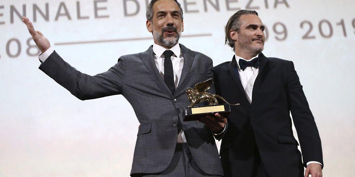 Dark 'Joker' wins top Venice Film Festival prize