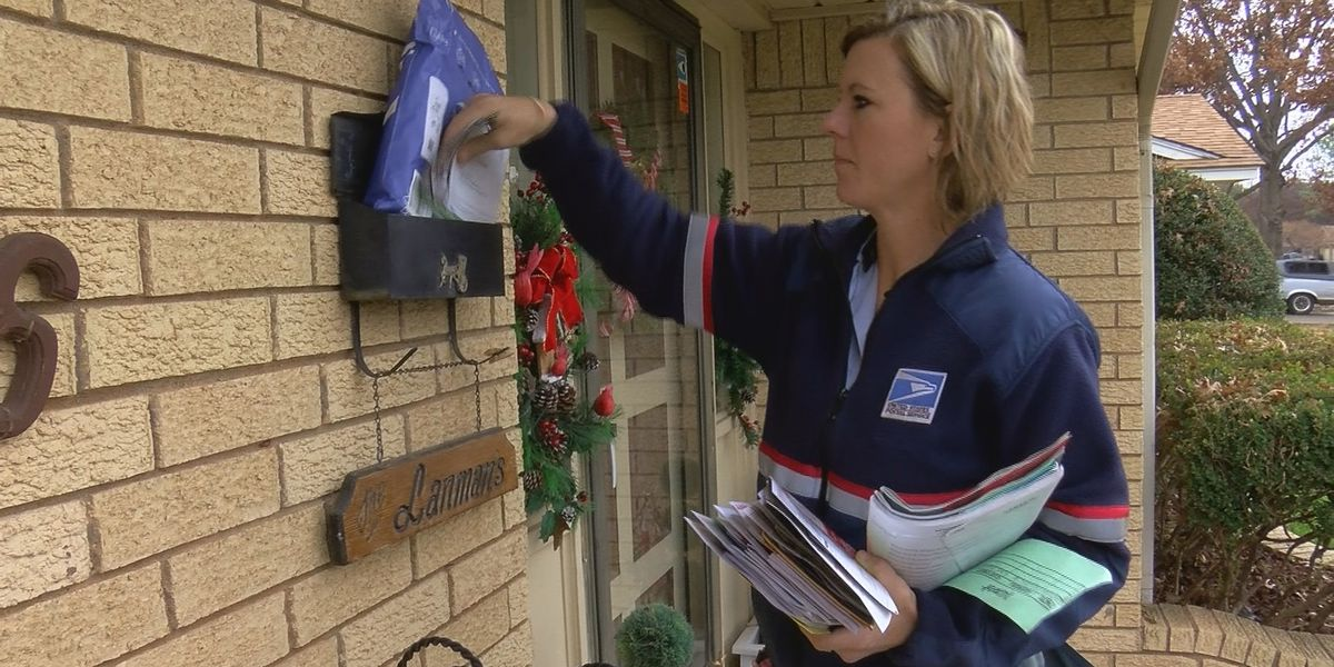 USPS mail carriers working overtime to deliver packages