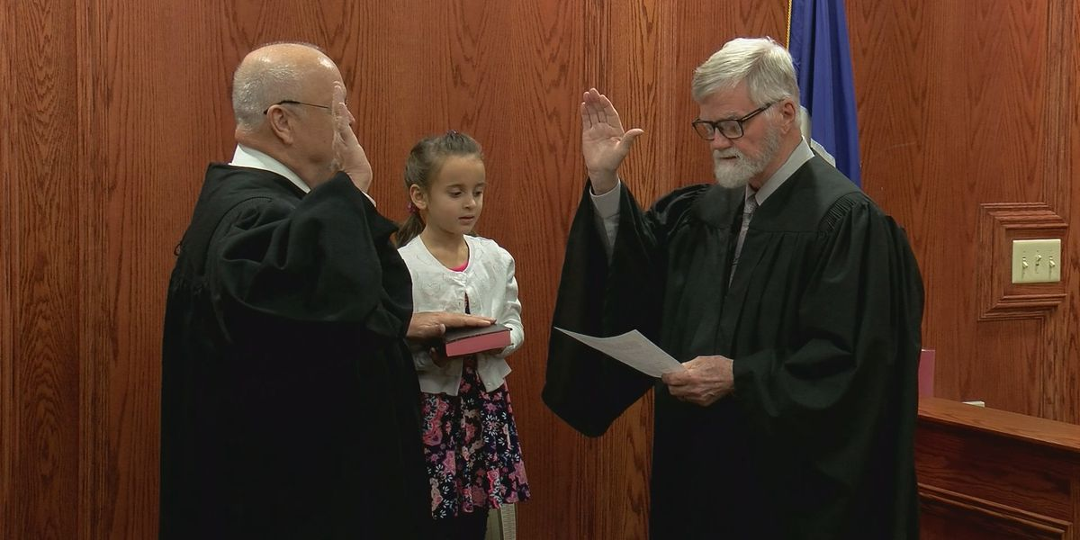 Judge Little sworn in as Interim Justice of the Peace