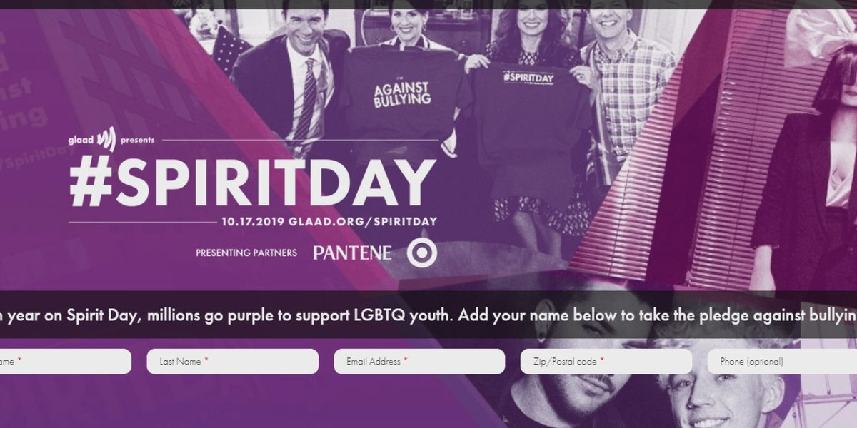LGBTQ Spirit Day raises anti-bullying awareness