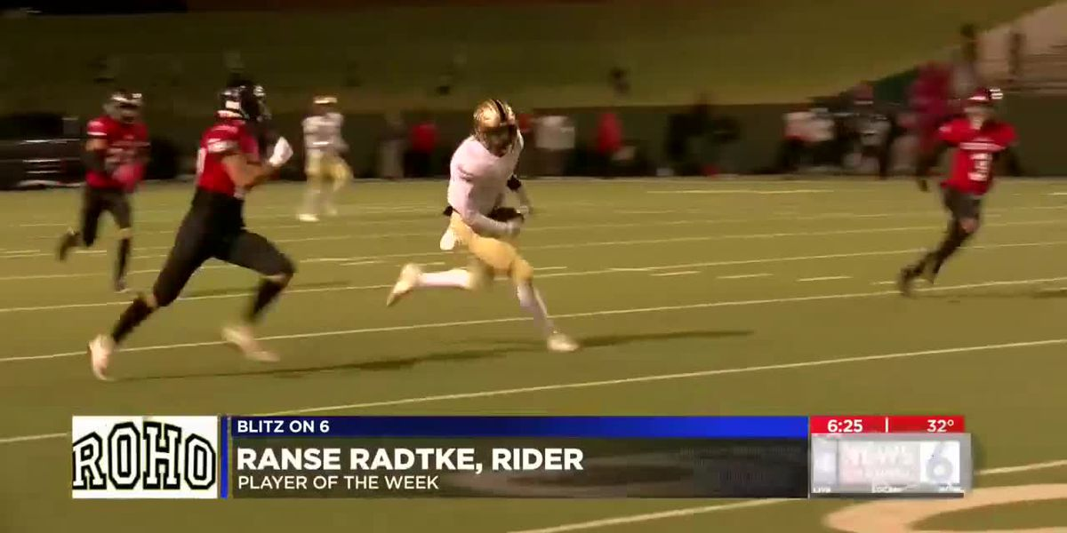 Ranse Radtke named Blitz on 6 Player of the Week