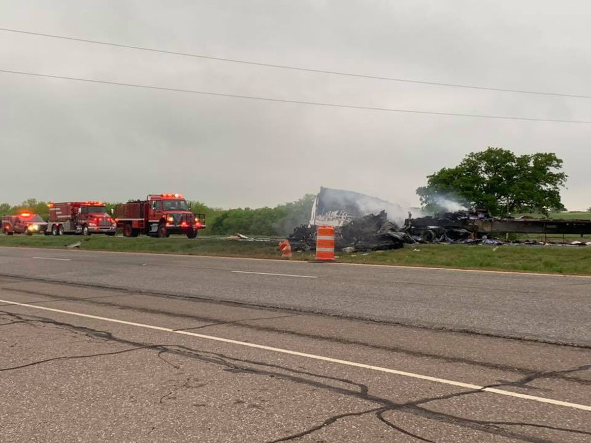 UPDATE: Victims identified in semi crash on U.S. 287