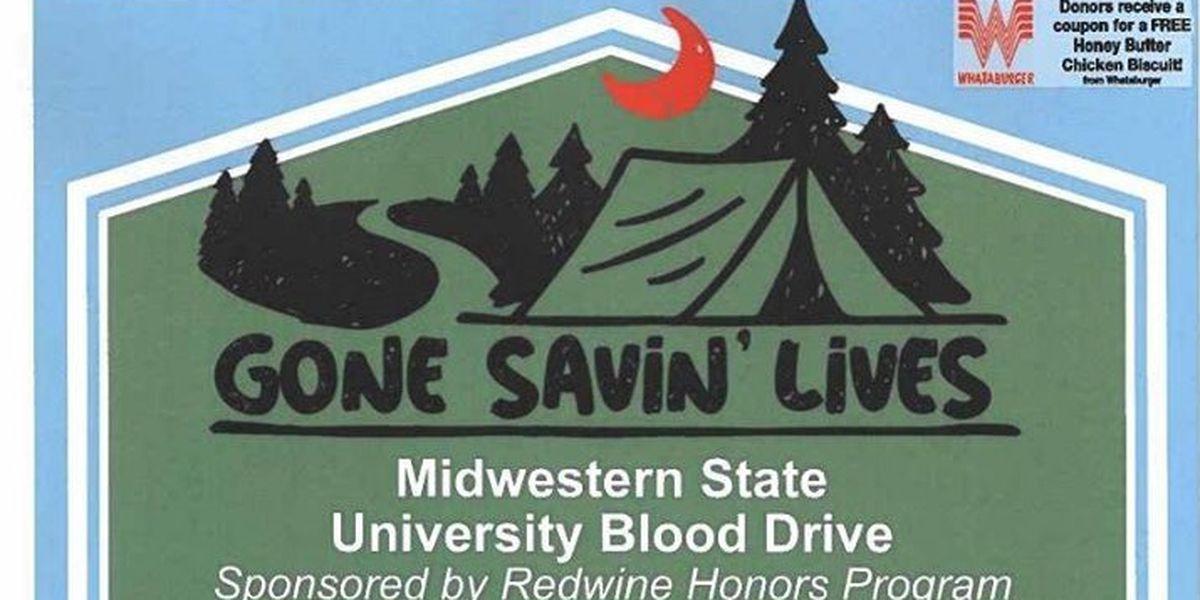 MSU Texas to host blood drive as fall semester begins