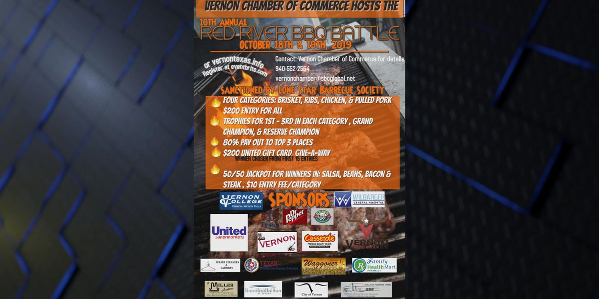 Red River BBQ Battle this weekend