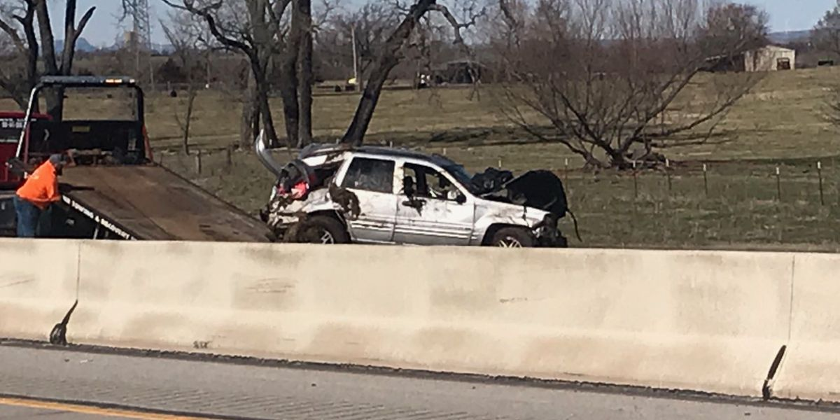 Serious crash on I-44 sends multiple people to the hospital