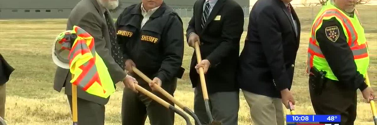 Groundbreaking ceremony held for Wichita County Law Enforcement Center
