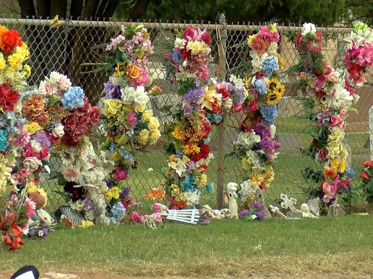Sacred Heart Cemetery cleanup involves destruction