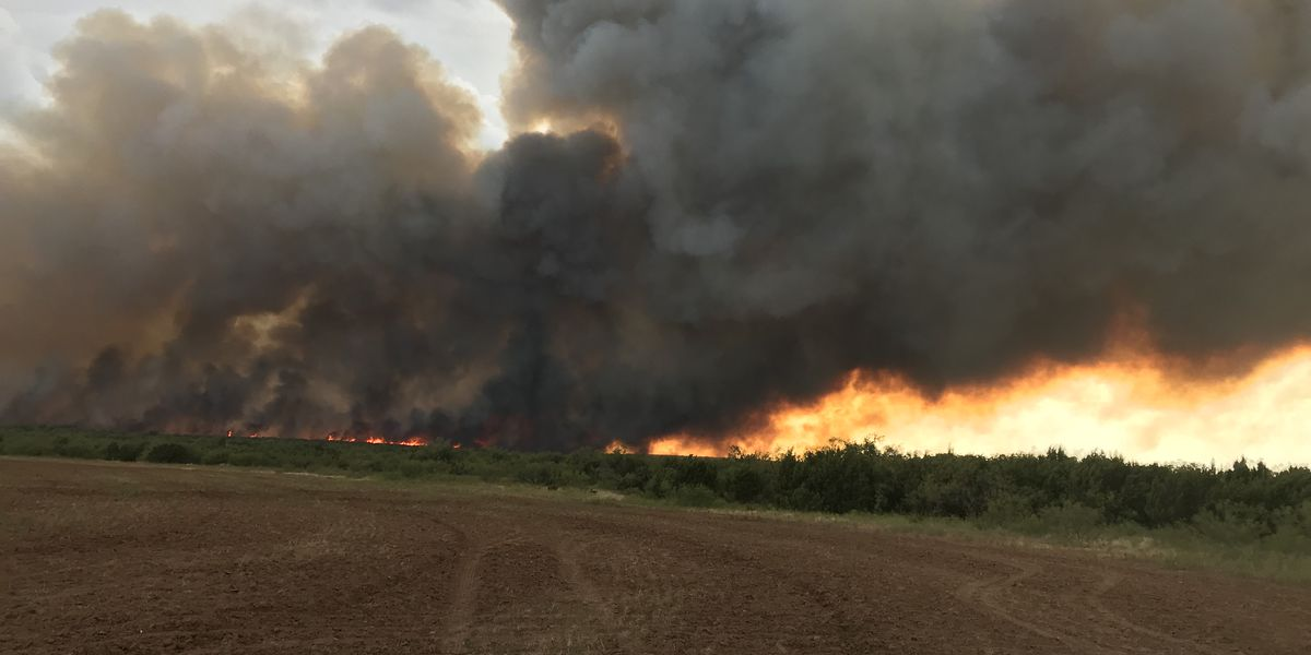 UPDATE: Copper Breaks fire 58% contained, Crowell fire not contained