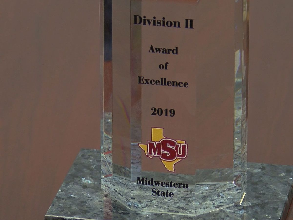 Midwestern State wins NCAA DII Award of Excellence