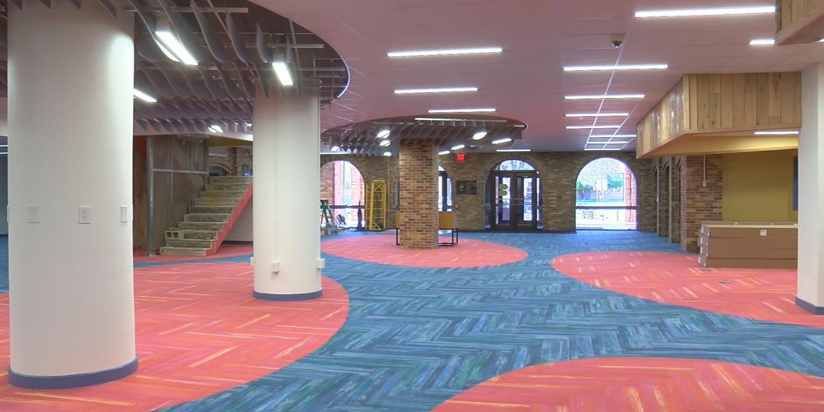 Moffett Library renovations near completion