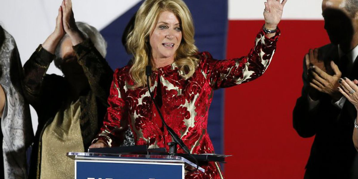 Democrat Wendy Davis of Texas running for Congress in 2020