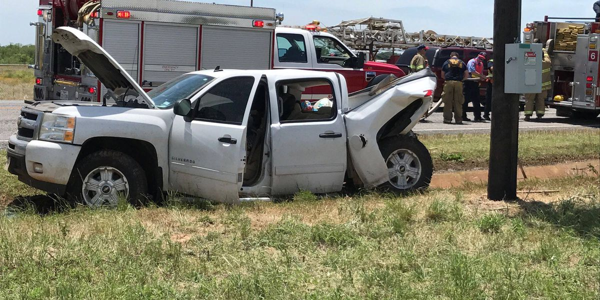 Traffic backed up, driver injured following accident on U.S. 82