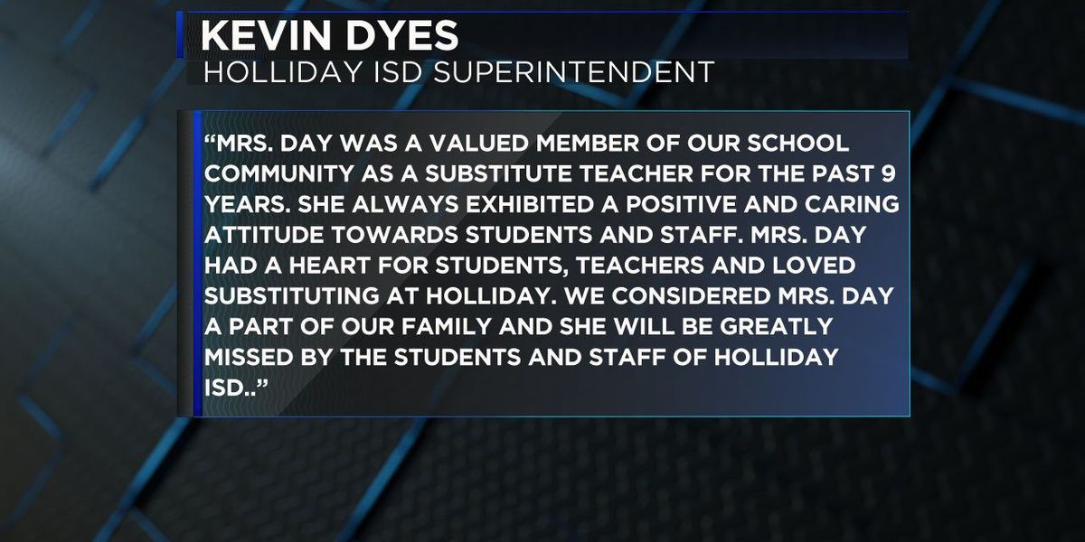 Holliday ISD mourns loss of substitute teacher who died in TX-79 crash