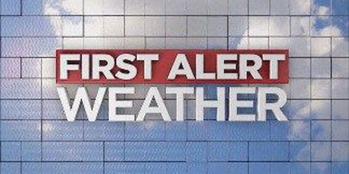 First Alert Day: Monday Afternoon, Evening Severe