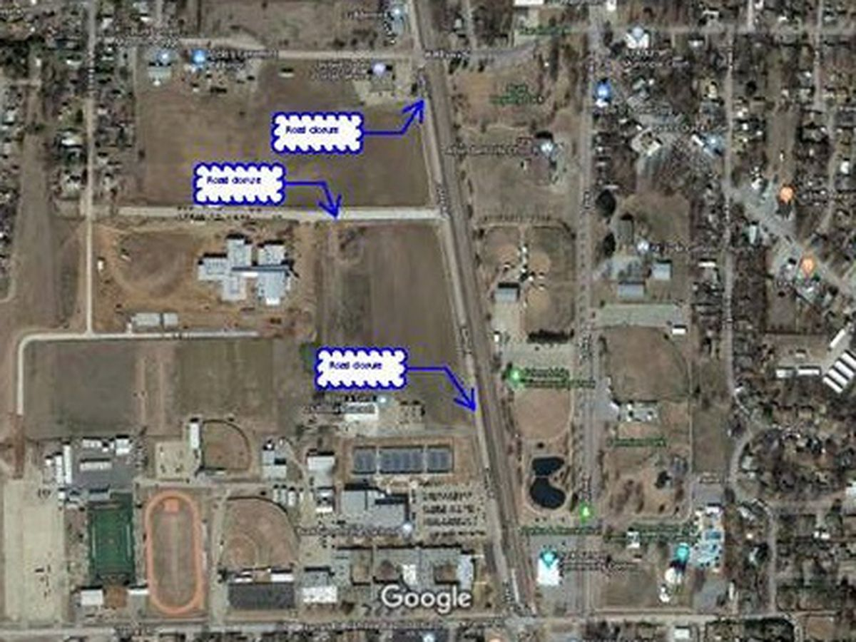 Burkburnett roads near school parking lot will be closed next week