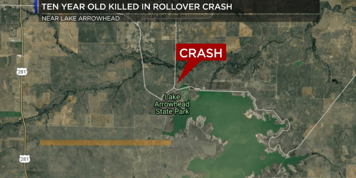 DPS: Ten-year-old killed in crash near Lake Arrowhead