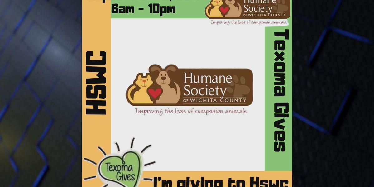 Humane Society of Wichita County receives donation
