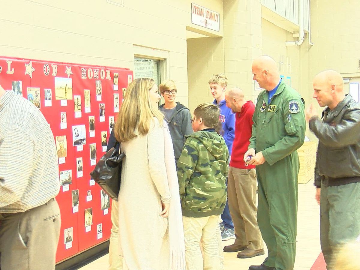 Christ Academy Celebrates Veterans with Special Assembly