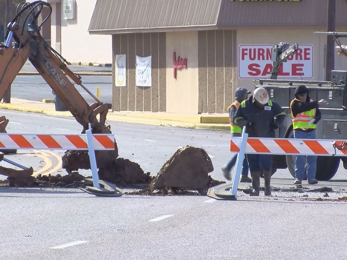 Water main fix causes road closures in WF