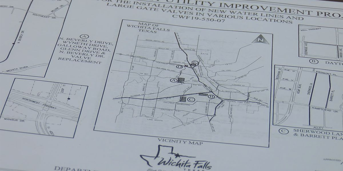 Water Main Replacement Project will add fire protection