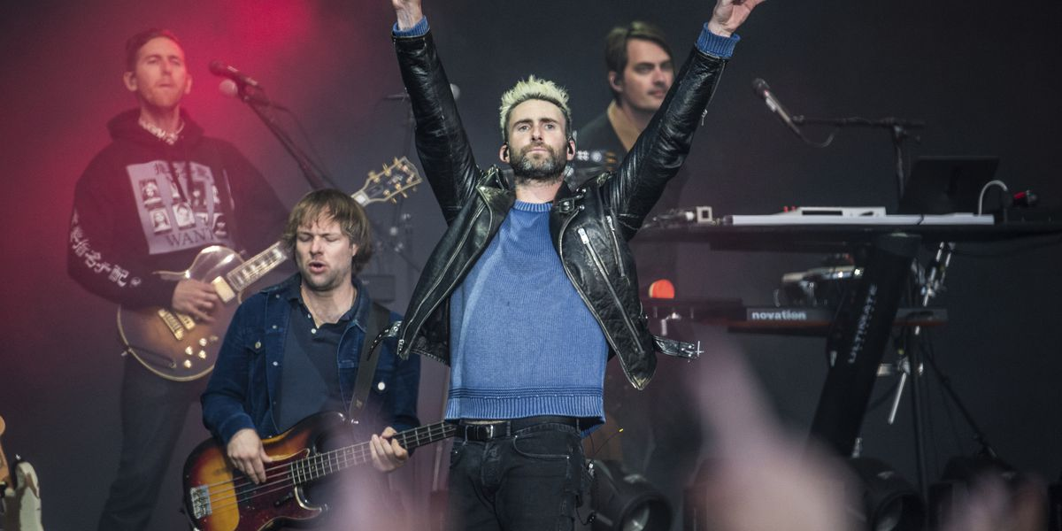 It's official: Maroon 5 will headline the Super Bowl halftime show