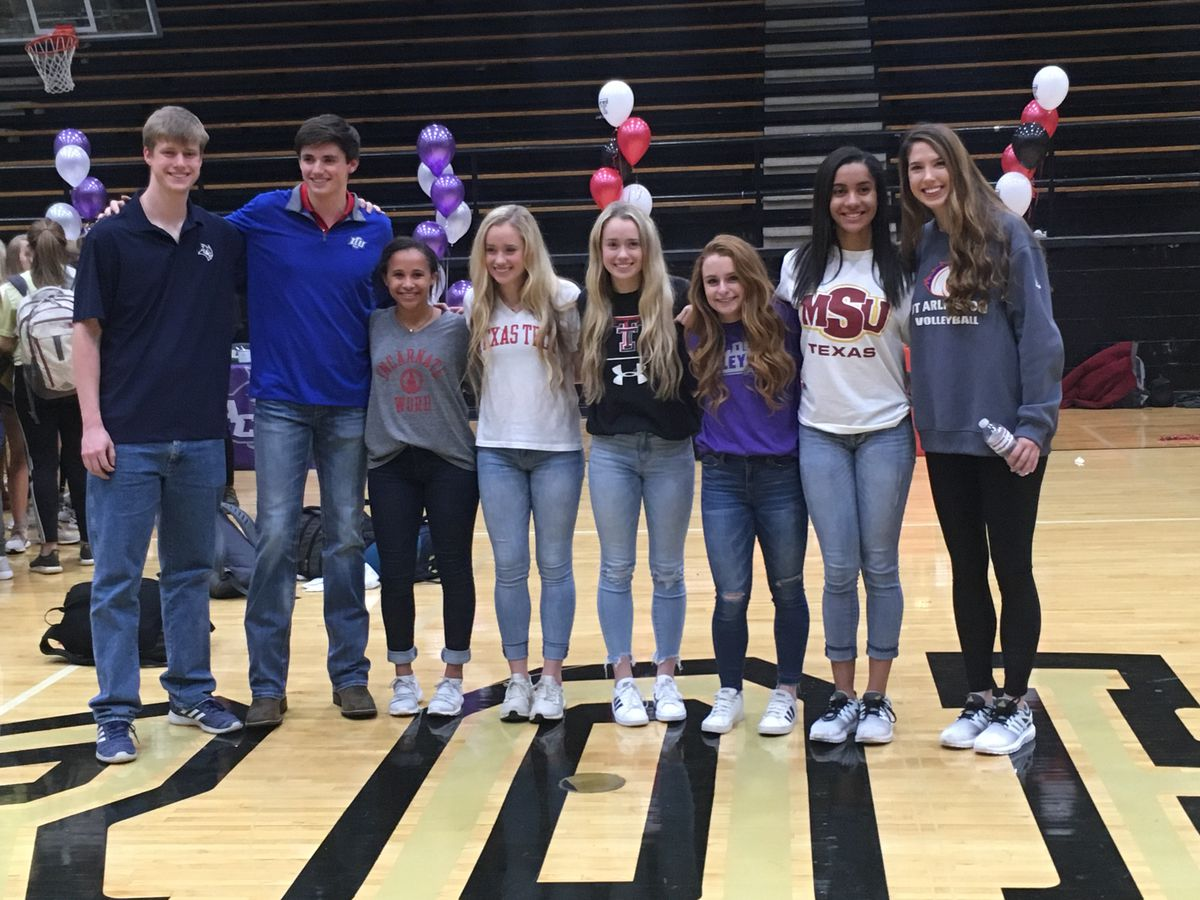 11 Texoma athletes sign on National Signing Day