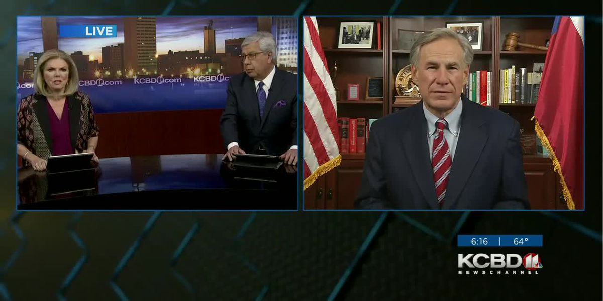 WATCH: Gov. Abbott promises antibody therapy, COVID vaccine as early as late November