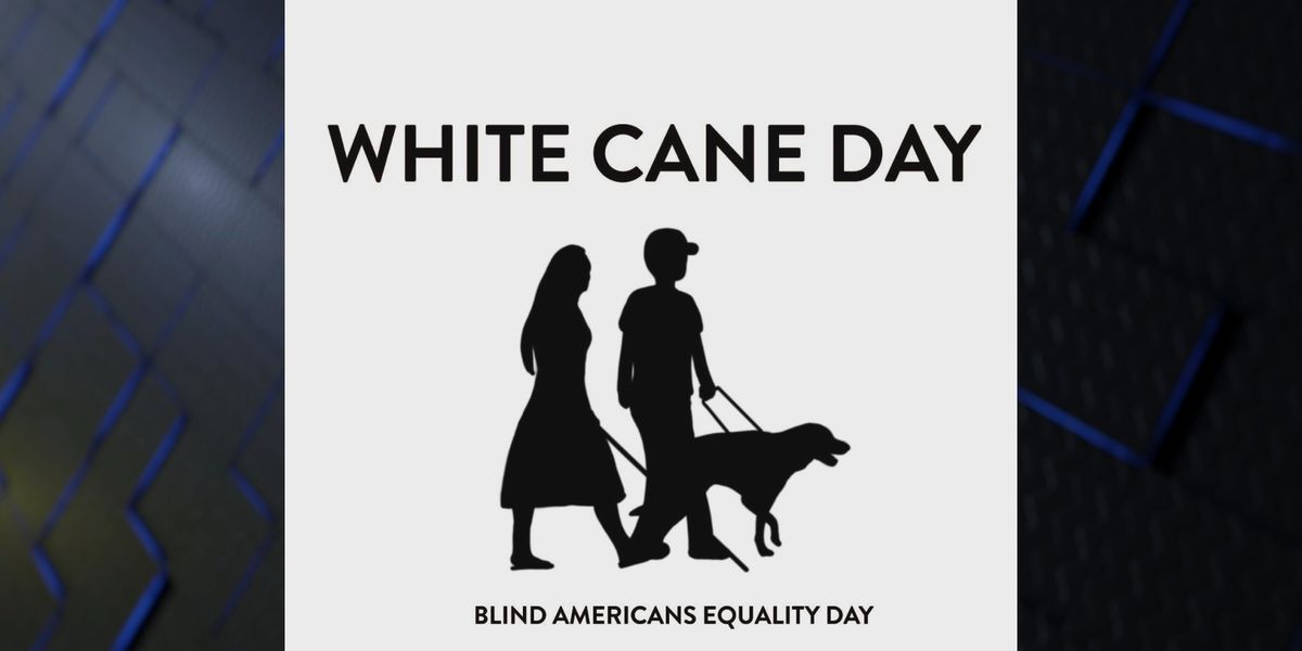 White Cane Day One-Mile Walk to bring awareness to the community
