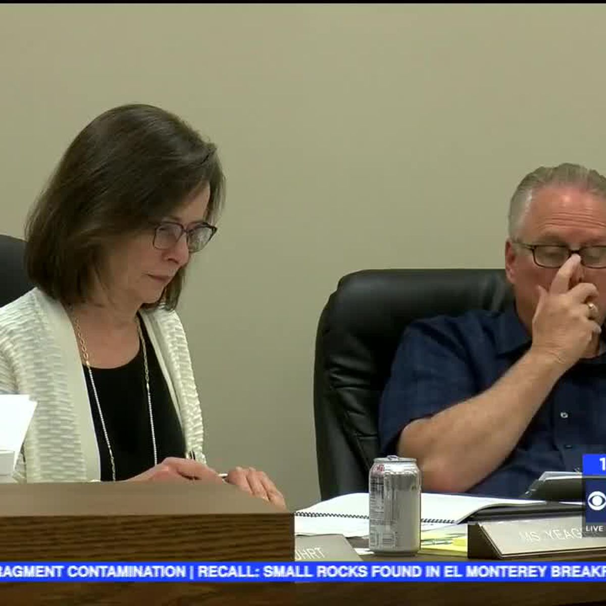 School Board, Voter reaction to Tax Ratification passing