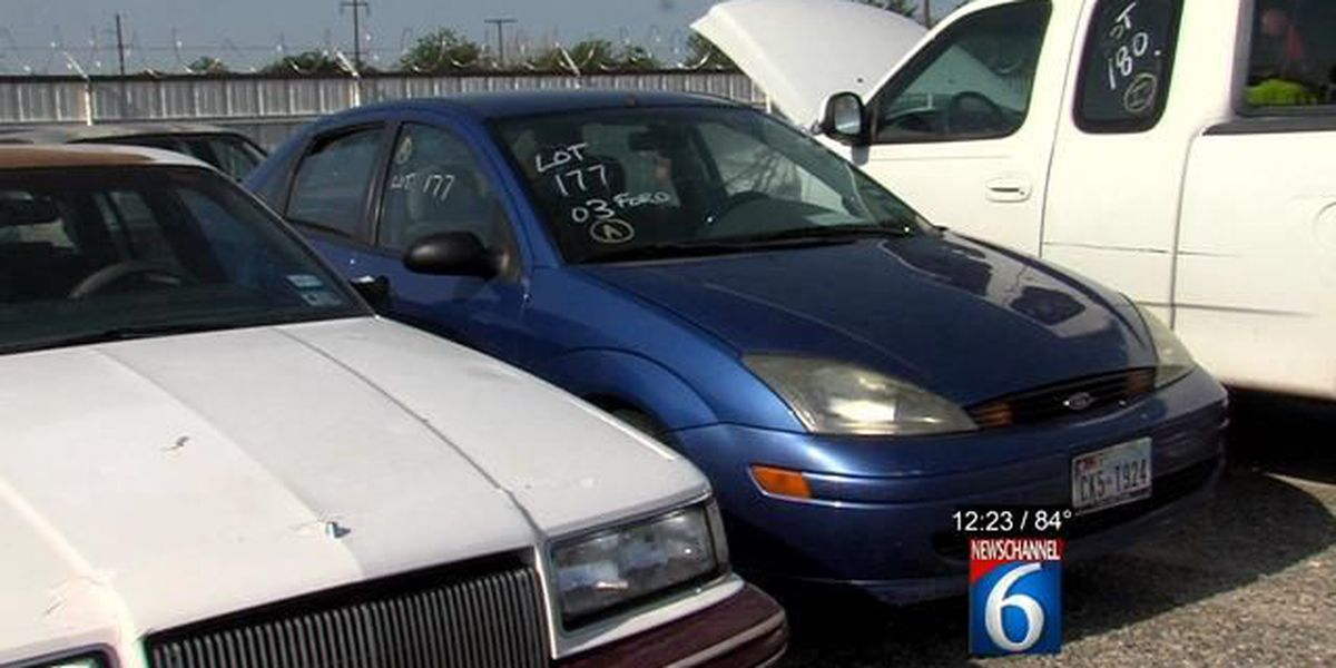 130 Vehicles Up For Grabs In Auction