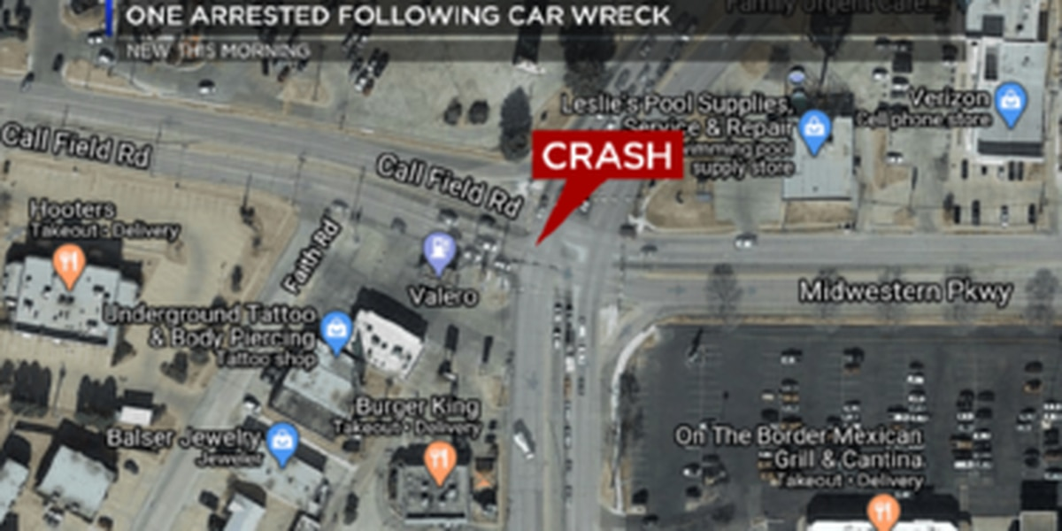 One arrested in late-night crash