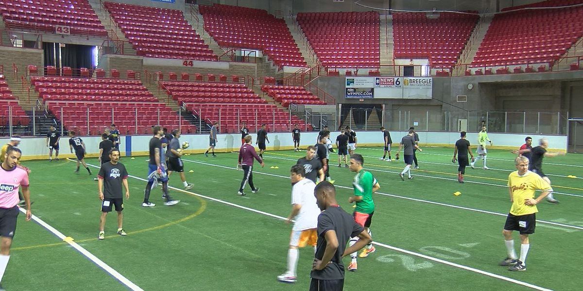 FC Wichita Falls first round of tryouts