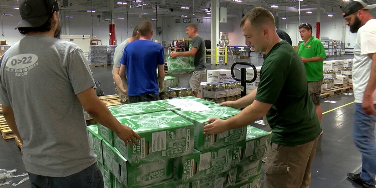 HHH: Volunteers help prepare supplies for rest stops