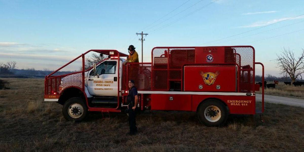 Multiple Fire Crews Respond to Fire North of Burkburnett