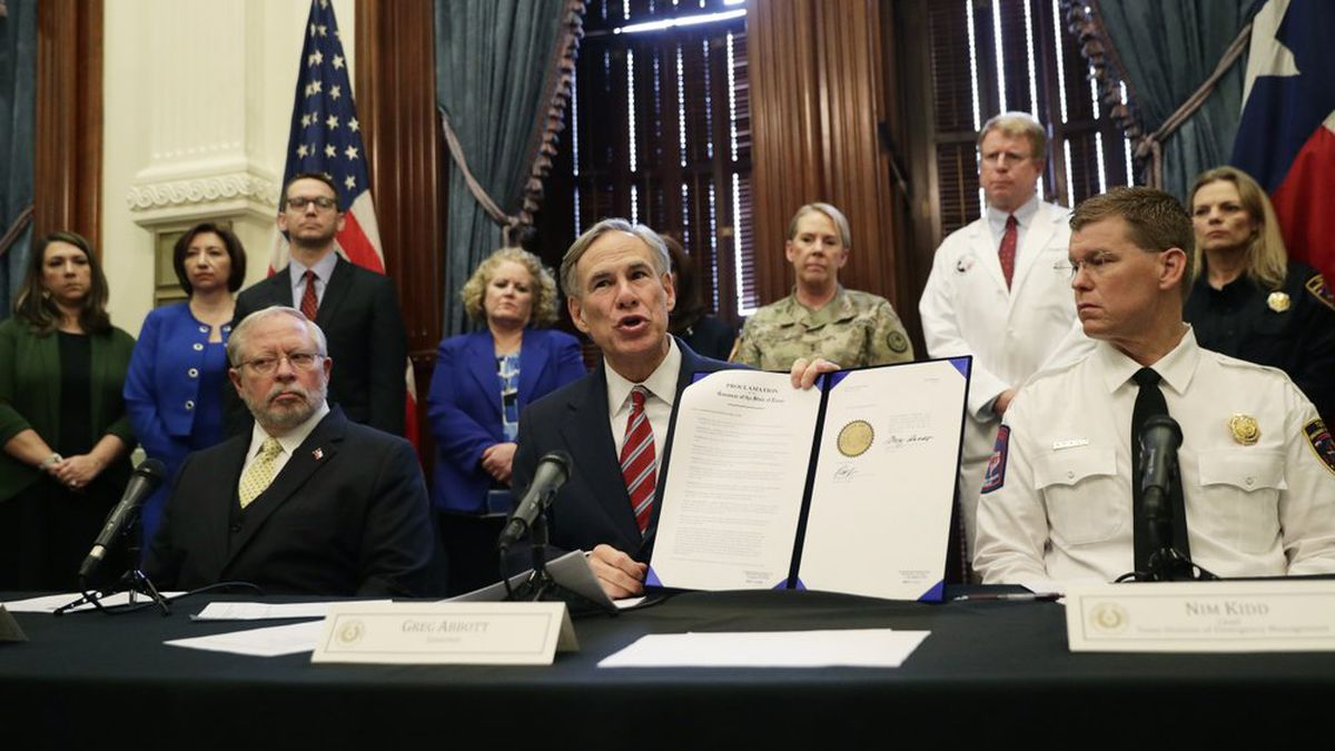 Gov. Abbott extends self-isolation executive order for new states and cities
