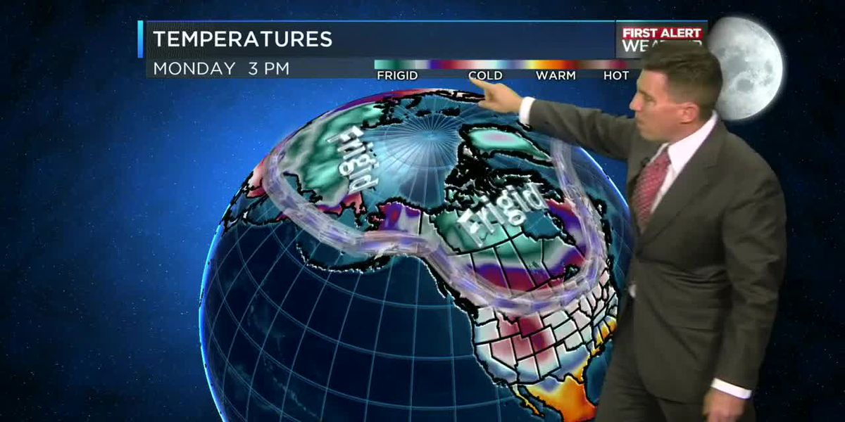 Tracking Cold Temperatures in Canada