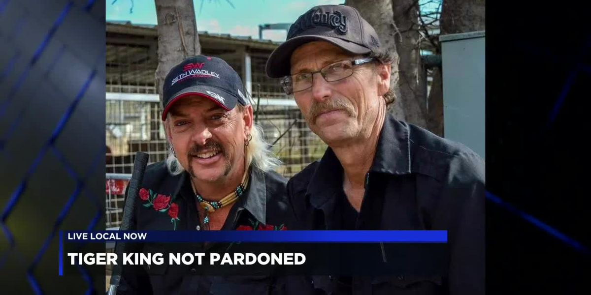 """""""Tiger King"""" star reacts to Joe Exotic's failed pardon request"""