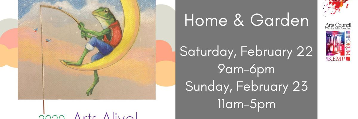 Arts Alive! Home and Garden Festival this weekend