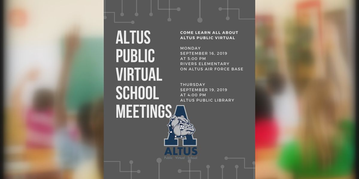 Altus Public Schools now offering virtual classroom option