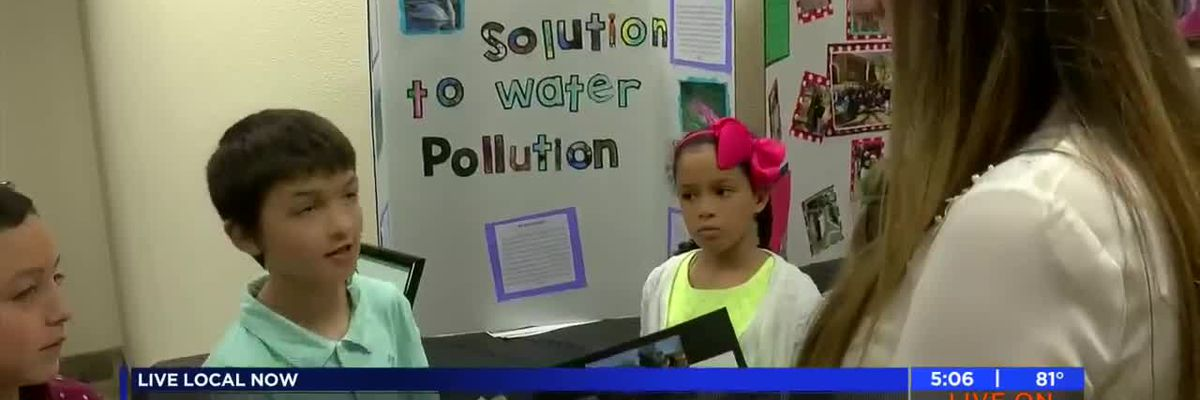 Elementary students present research projects at MSU