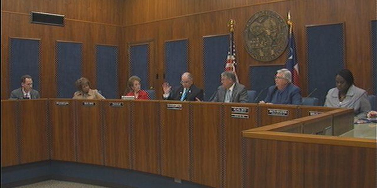 Busy day at W.F. City Council
