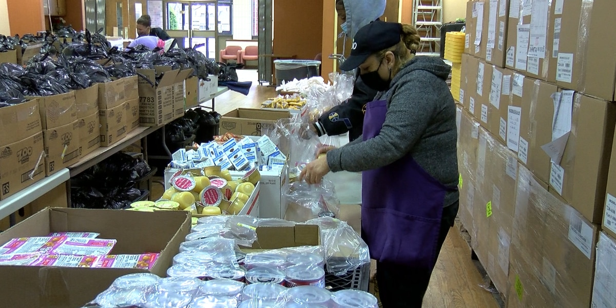Meals on Wheels delivers multiple meals in preparation for severe weather
