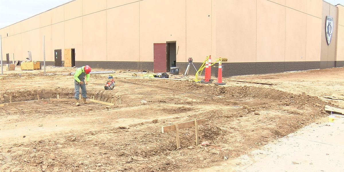 Memorial at WC Law Enforcement Center starts construction