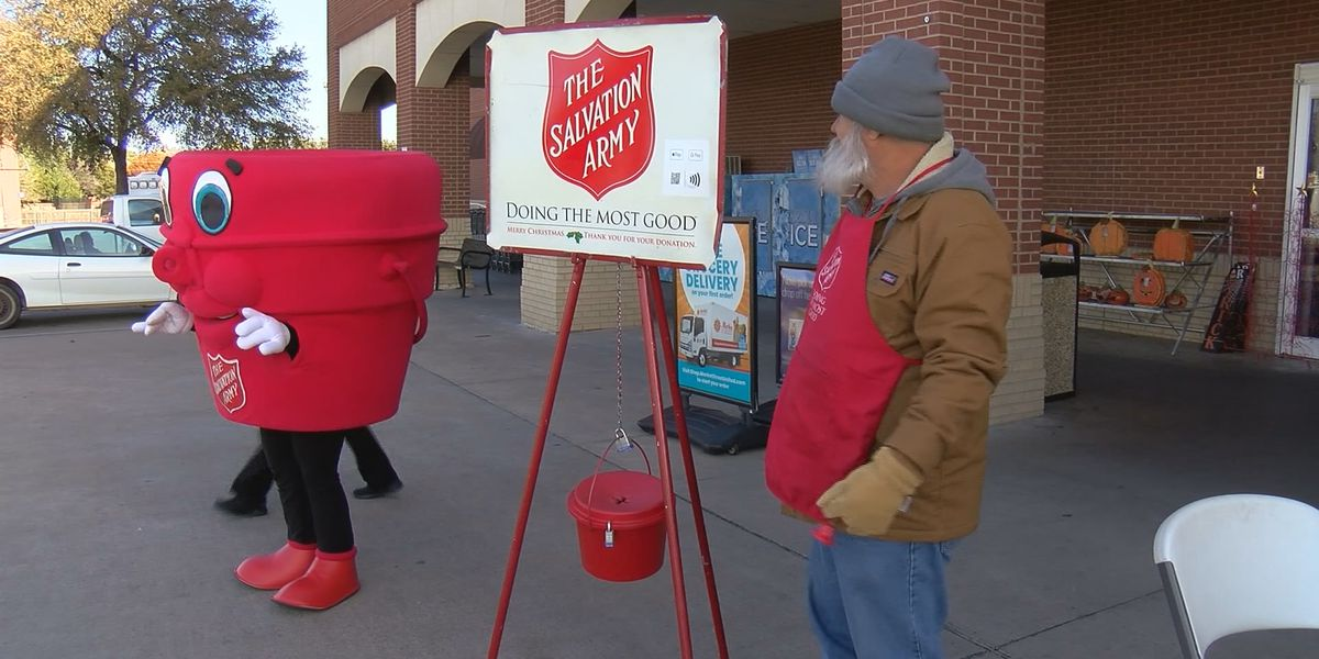 Salvation Army Red Kettle campaign underway