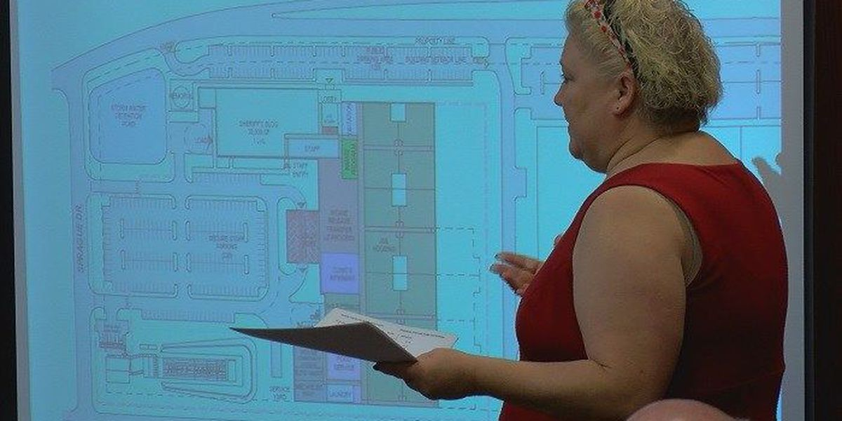 Wichita Co. Commissioners get a look at possible design for new jail