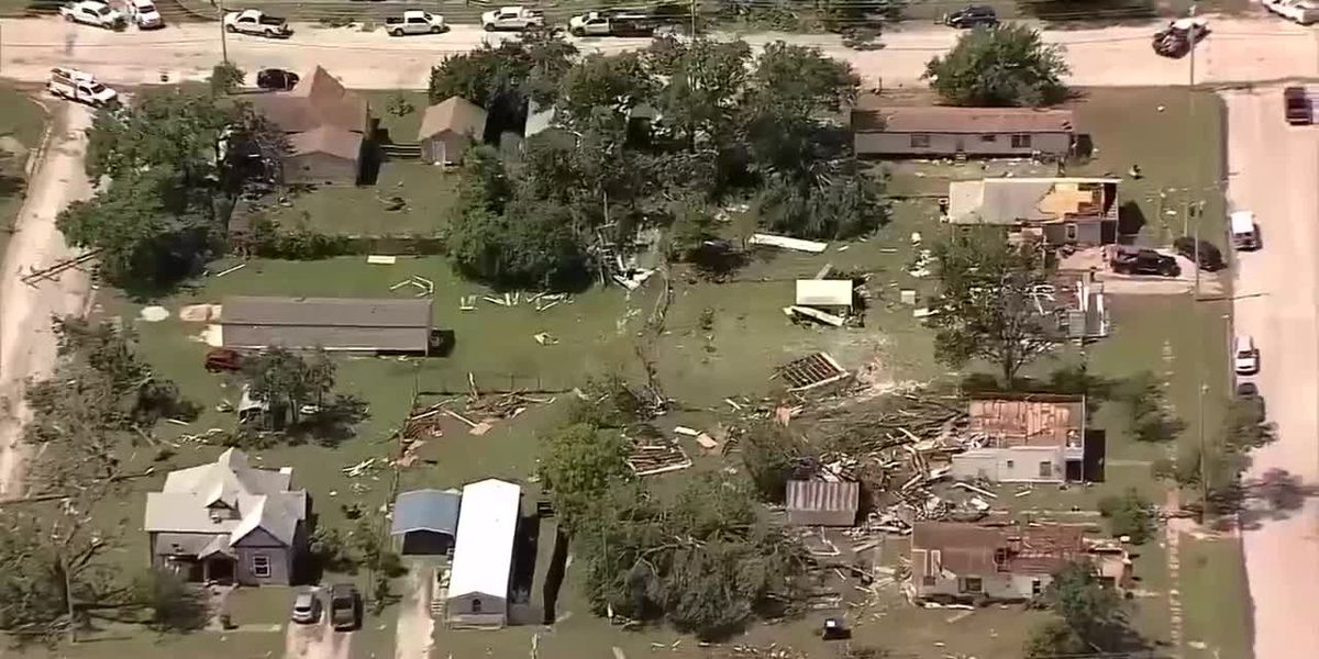 Bowie rebuilds after last year's tornado