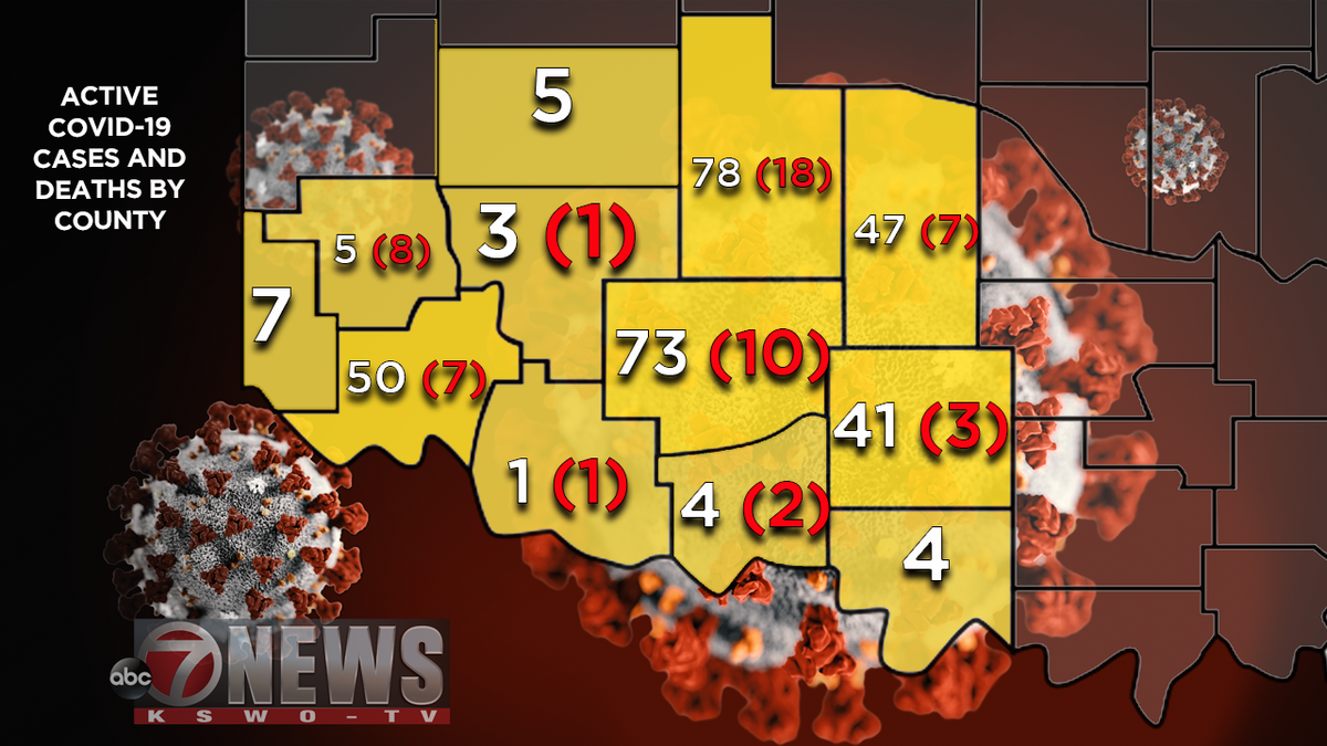 STATE UPDATE: State officials update COVID alert map, six new deaths reported