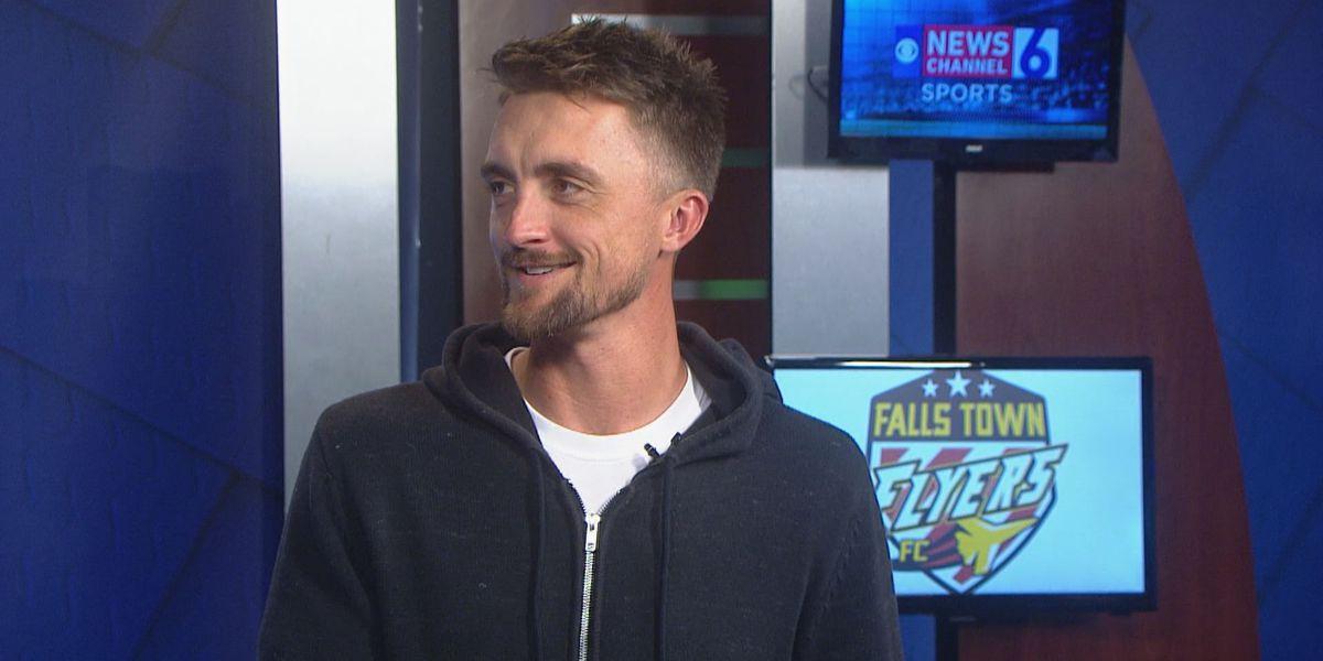 In-studio interview w/ Falls Town Flyers head coach Brandon Swartzendruber