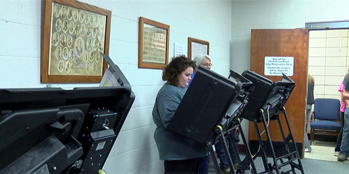 Polling locations for Election Day in Wichita Falls
