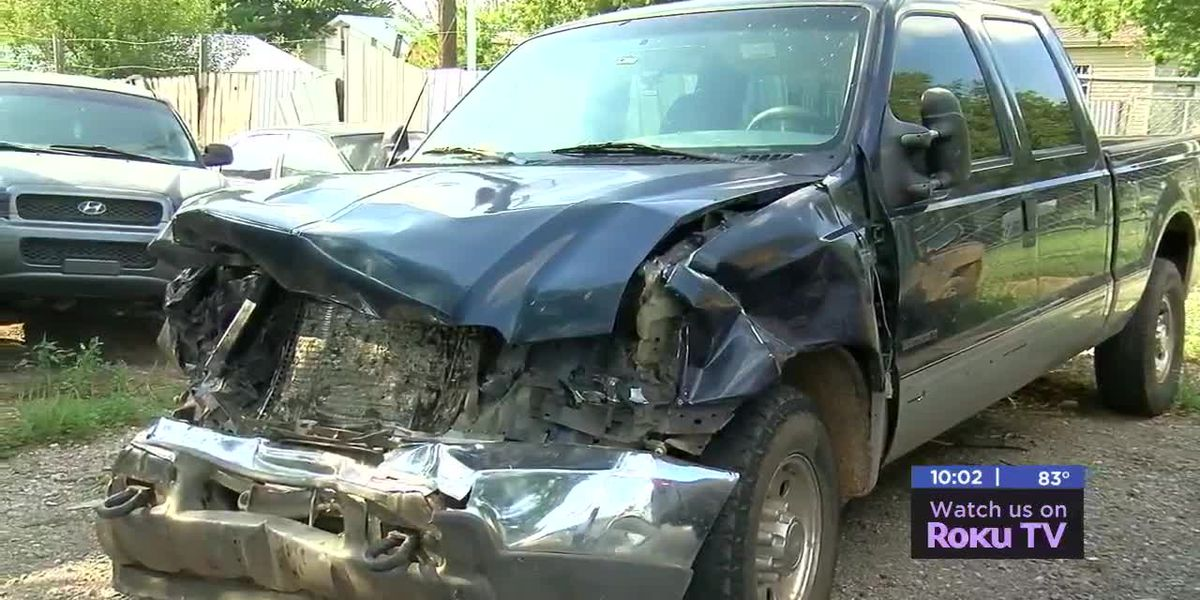 Cache man recovering after collision with cattle